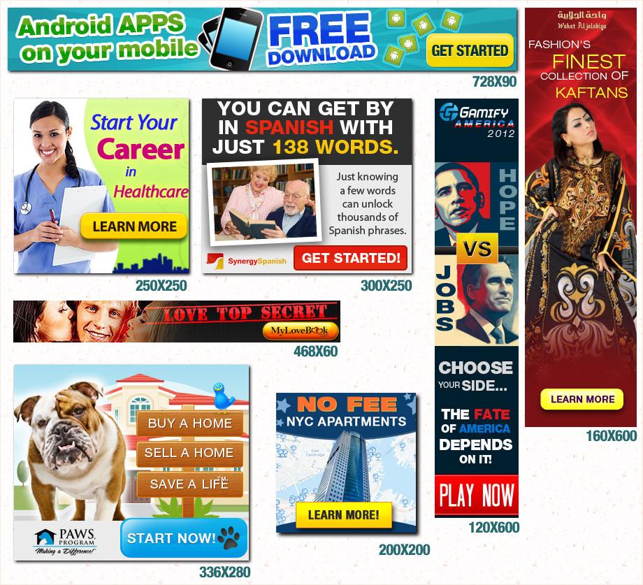 Online Banner Ads | imgarcade.com - Online Image Arcade!